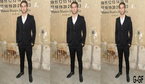 Chace Crawford stylés à la soirée H&M x Margiela à New York