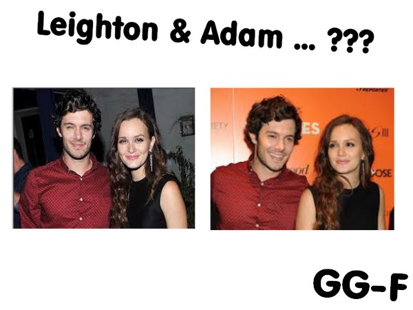 Adam Brody et Leighton Meester, le couple 2013 ???