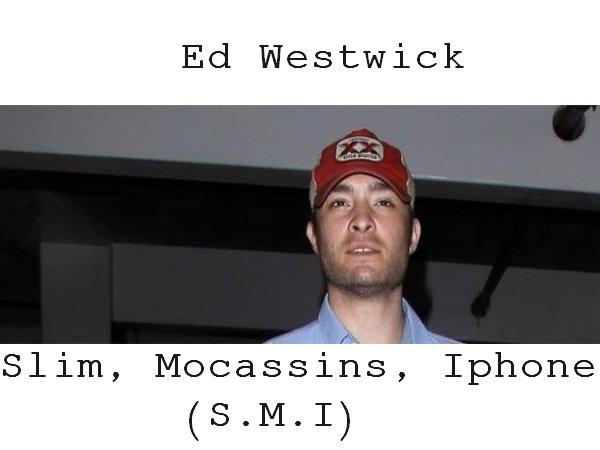 Ed Westwick : Le slim, les mocassins et l'iPhone 5 de l'ex Chuck Bass de Gossip Girl