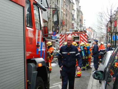 suite photos nos Pompiers de Bruxelles