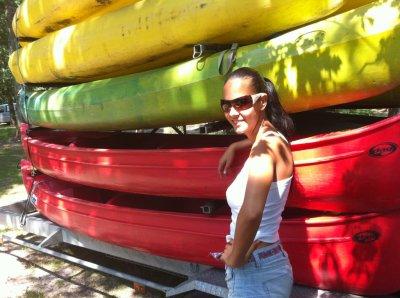 Ballade en canoë kayak !!!