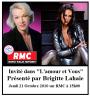 """""""L'amour et Vous"""" Sur RMC Jeudi 21 Octobre 2010 à 15 h00 !!!"""