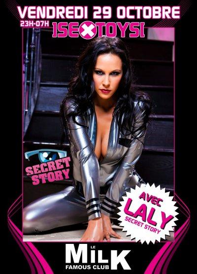 Laly's Show @ Le Milk Discotheque ce vendredi 29 Octobre 2010 !!!