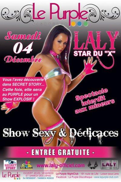 Laly's Show @ Le Purple (NightClub) à Loison sous Lens le Samedi 4 Decembre 2010 !!!