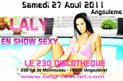 SHOW SEXY @ ANGOULEME LE 27 AOUT 2011