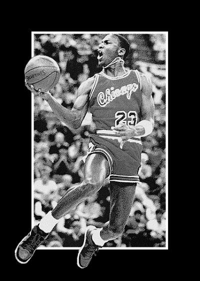 Si vous rentrez dans un mur, n'abandonnez pas. Trouvez un moyen de l'escalader, le traverser, ou travaillez autour. Michael Jordan.