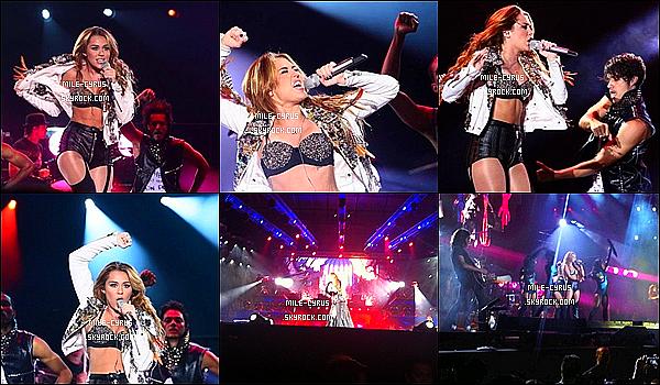 """.  17JUIN2011_-__ Miley Ray Cyrus à (enfin) fait un concert pour son """"Gyspy Heart Tour"""" à Manilla aux Philippines. Tu adhère ou non à la tenue de scène de Miley ? Et si tu veut des vidéos de ces performances durant tous le concert, demande les moi. ."""