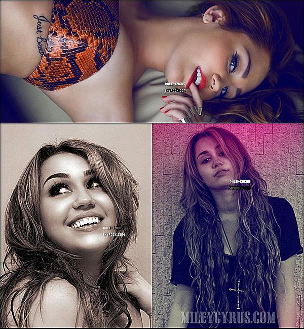 """Découvre trois nouvelles photos de Miley issue du photoshoot de """"Vijat Mohindra"""""""