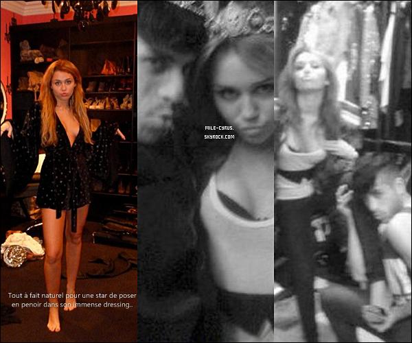 . . ARTICLE SPÉCIAL PHOTO PERSO : ENCORE UN « MINI-SCANDALE » À L'AFFICHE!     À croire que les gens n'apprécient vraiment pas Miley Cyrus et font tout pour la déstabiliser! .  C'est lors d'une soirée où notre star a invité tout ses amis à faire la fête jusqu'au bout de la nuit qu'un malhonnête s'est amusé à voler le sac de la star contenant son iPhone et son appareil photo de haute qualité! Qui pourrait-être ce ''quelqu'un'', à croire que le courant tourne vraiment mal pour notre Miley qui va de scandale en scandale. Ci-dessous découvrez les photos volées que le petit malin aurait vendu à un site people, rien de très grave à première vue mais qui pourrait choquer les jeunes fans de la star.. Le « voleur » en question se serait amusé à prendre le corps nu d'une femme seulement recouvert d'une chemise rouge, identique à celle de Miley et aurait pris la tête de la première photo ci-dessous. C'est confirmé que c'est un montage vu que la fille n'a pas le tatouage « Just Breathe » qu'elle s'est fait faire sous son sein gauche il y a plus d'un an. Les gens s'acharnent sur son sort, il faudrait penser à la laisser tranquille.. Est-ce aussi ton avis? Dis-moi tout!  . Et toi qu'en penses-tu? As-tu été choqué par ses révélations? . .