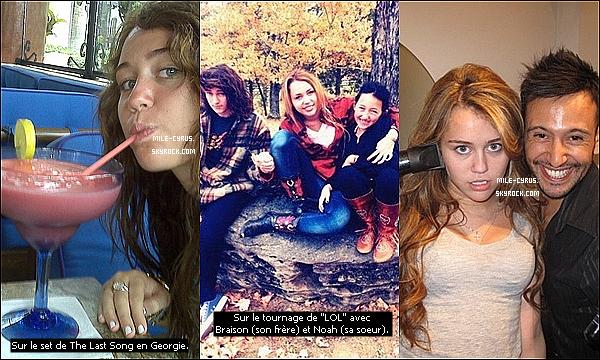 .    .     Découvrez un scan du magazine américain People sur son voyage humanitaire à Haïti.   .   Un nouveau scandale plane au-dessus de la tête de Miley Cyrus, c'est celui d'être ivre! Eh oui, on aura vraiment   entendu tout, cette folle rumeur a été créer lorsque les gens ont remarqués la drôle de tête et les yeux que Miley avait lorsqu'elle était devant l'hôtel Chateau Marmont d'Hollywood ce samedi 12 mars (article correspondant). Les sites people se sont empressés de crié que la star titubait devant le lieu après une nuit de fête, mais queneni! Miley était en fait en rendez-vous professionnel avec le producteur Dr. Luke à l'hôtel avec qui elle avait déjà travaillé sur « Party In The USA ». Mais le rendez-vous n'était absolument pas pour l'avantage de la star mais pour d'autres artistes! Sur les photos Miley était en fait éblouie par les flashs des paparazzis ce qui explique la tête peu flatteuse qu'elle avait ce soir-là. Et toi t'en penses quoi? Tes avis?   .   Le blog pense reprendre son habillage gris après cette version printemps. Qu'en pensez-vous?  .    .