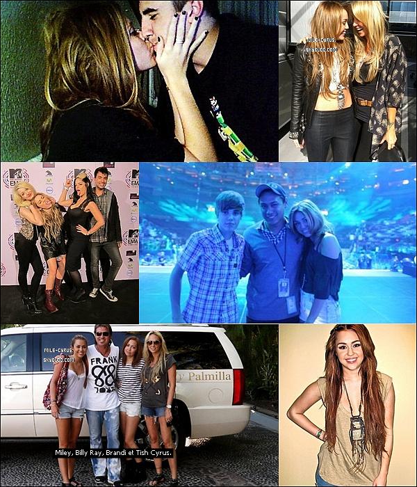 .   Découvrez de nouvelles photos personnelles de Miley grâce à internet.  .    La nouveauté c'est que Miley Cyrus pourra désormais poster des photos et des news d'elle sur twitter. Pas qu'elle revienne sur son propre compte (@mileycyrus) mais sur celui du groupe Rock Mafia qu'elle dit ''comme sa famille'' @Rock_Mafia : « Je voudrais mettre les choses au clair JE ne reviens PAS sur Twitter. Je l'utilise seulement lorsque je travaille avec la RM ! Les fans sont la meilleure source d'inspiration. Je vous aime xMC. » Alors heureux(se)?   .