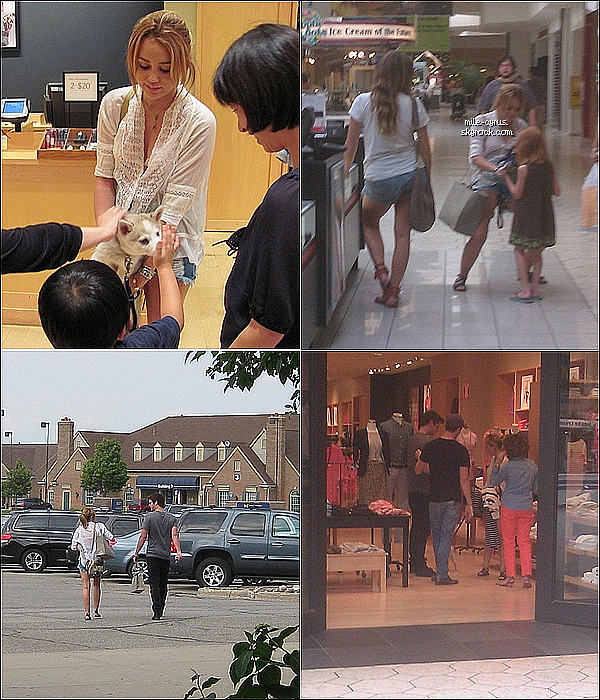 .   PHOTOS DE FANS DE MILEY ET LIAM PENDANT LEUR SÉJOUR AU MICHIGAN.  .