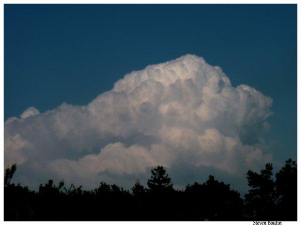 Quand les nuages bouillonnent ...