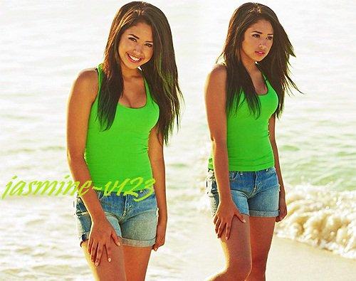 Jasmine à posté 2 nouvelles photos d'elle sur la plage  :)