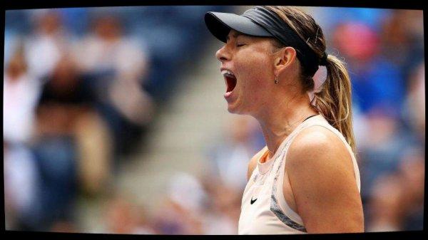 Maria Sharapova éliminée en huitième de finale par Anastasija Sevastova (5-7, 6-4, 6-2)