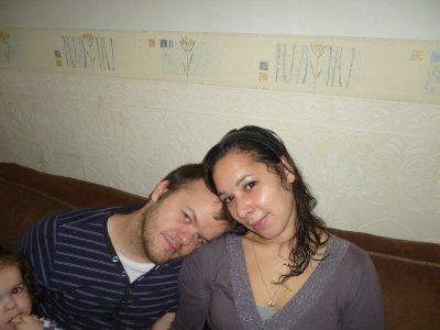Mon homme et moi <3 !!!!