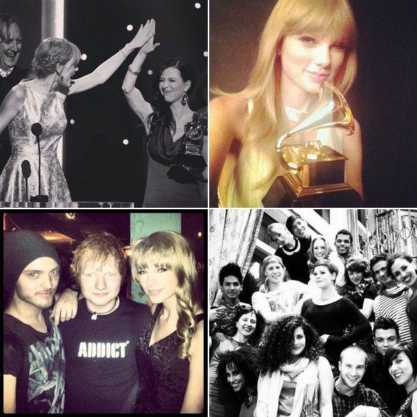 """Le 10 Février avaient lieu les Grammy Awards Pre-Telecast, Taylor a remporté un prix pour son duo avec The Civil Wars : """"Safe and Sound"""""""