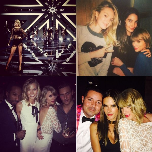 Photos récentes : au Victoria's Secret Show, puis aux Kiis FM's Jingle Ball de Londres et de Los Angeles.