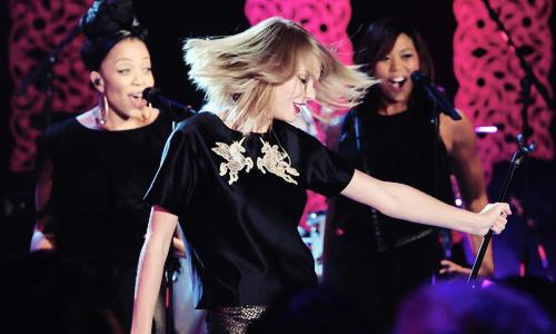 Taylor chez Ellen Degeneres