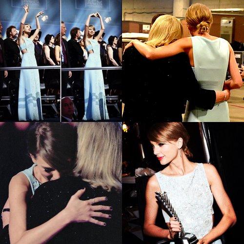 19 Avril : Taylor s'est rendue aux ACM Awards à Dallas (Texas) où elle a reçu le Milestone Award remis par sa mère qui a d'ailleurs prononcé un discours touchant.