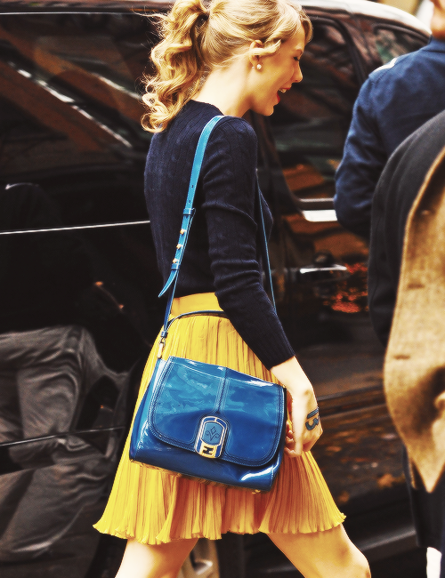 FLASHBACK - Taylor se promenait à New York le 22 Novembre 2011.