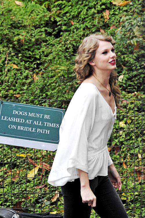 FLASHBACK - Le 25 Octobre 2010 Taylor donnait un petit concert surprise et gratuit à Central Park ! Taylor était vraiment belle et naturelle, j'adore sa tenue, j'en suis fan :)