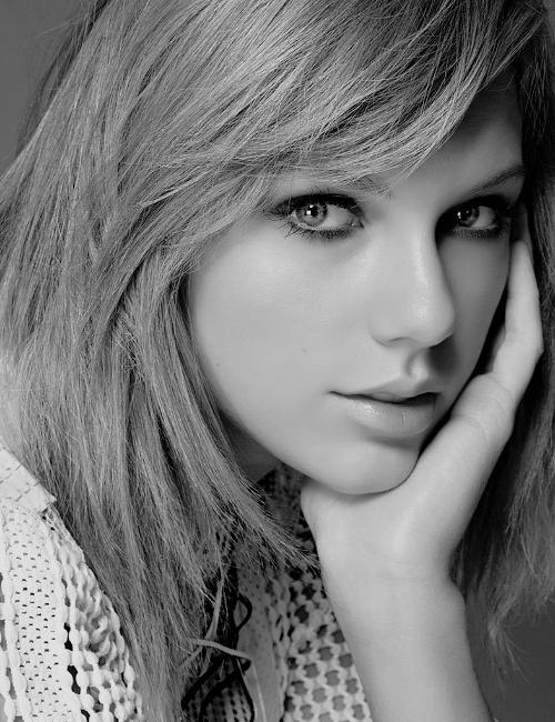 Taylor en couverture de Glamour