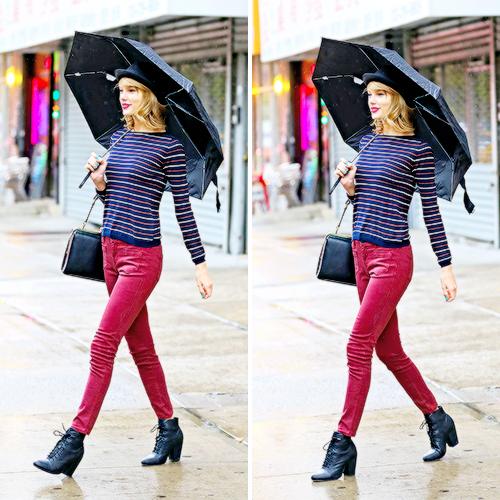 27 Avril : dans les rues de New York avec l'actrice Hailee Steinfeld