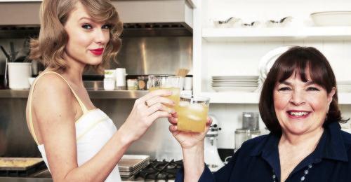 Taylor -vrai cordon-bleu- va figurer dans un magazine de cuisine au mois de Juin.