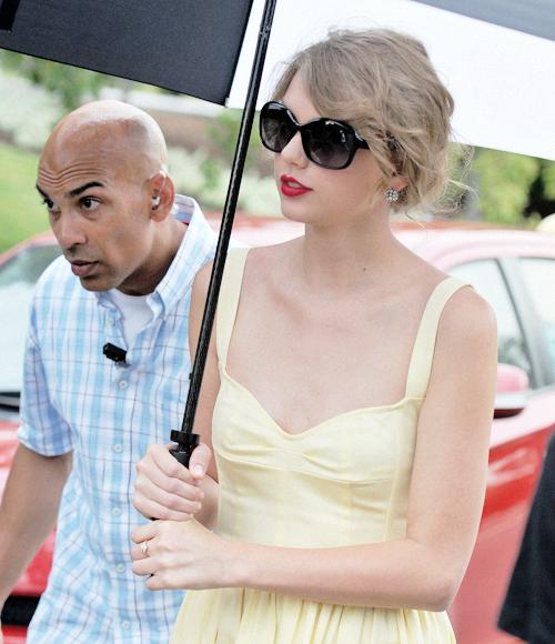 FLASHBACK - 03 Août 2011 : Taylor était à Arlington, en Virginie (USA)