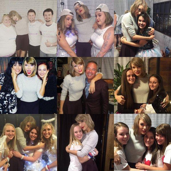 """Lors de son concert à Tampa, en Floride, le 31 Octobre, Taylor est arrivée sur scène déguisée en Olaf (La reine des neiges) et a chanté """"Let it go"""" avec Idina Menzel."""