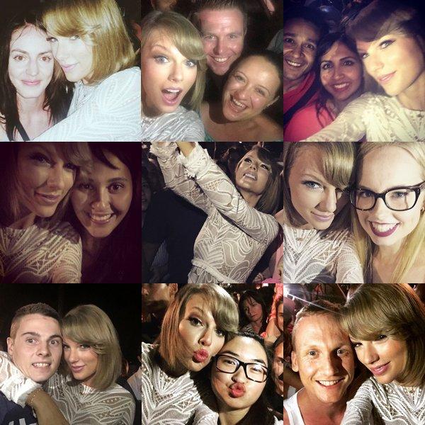 Le 03 Décembre, Taylor a donné un concert à la Nova's Red Room, en Australie, où elle se trouve dans le cadre de sa tournée.