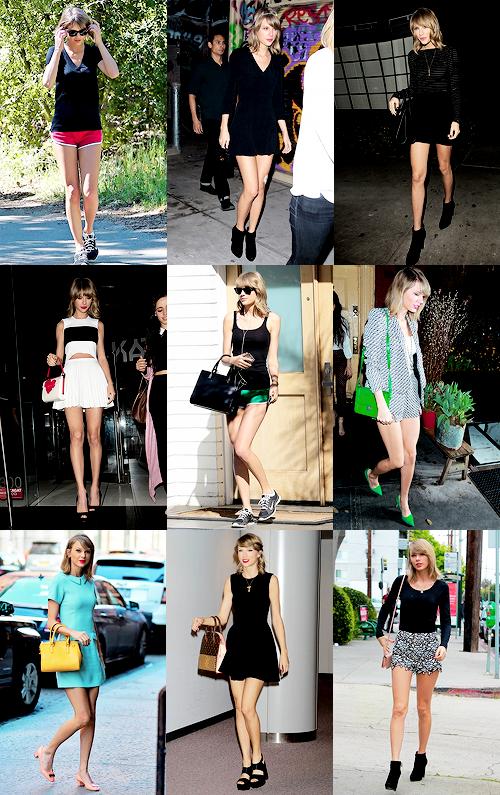 Récapitulatif des tenues portées par Taylor en 2015 ! Quelles sont tes préférées ? :)
