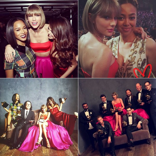 Photos prises lors des Grammy Awards et de l'after-party