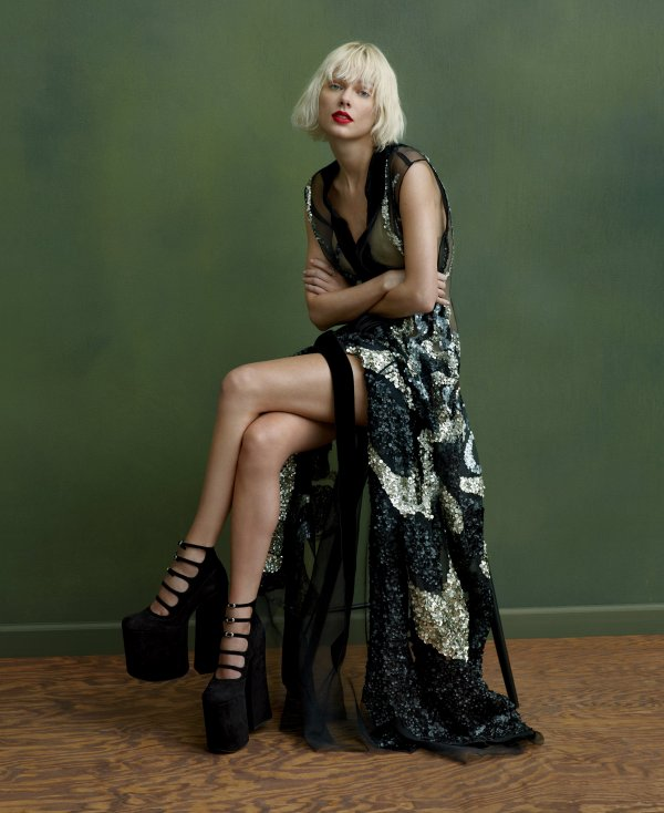 Taylor pour Vogue