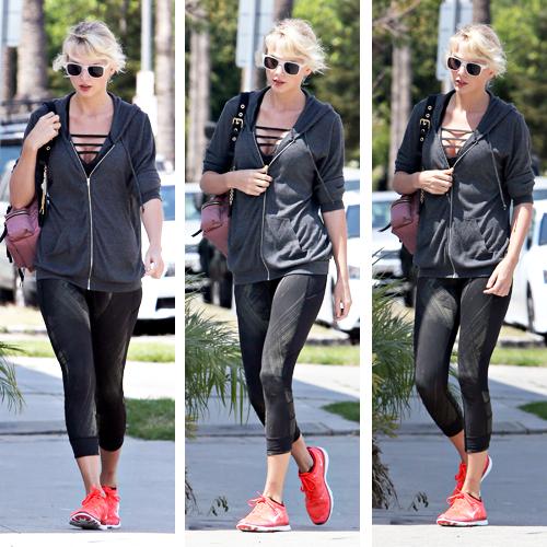 Taylor a posté cet assemblage de photos à l'occasion de l'anniversaire de l'actrice Lena Dunham, le 13 Mai.