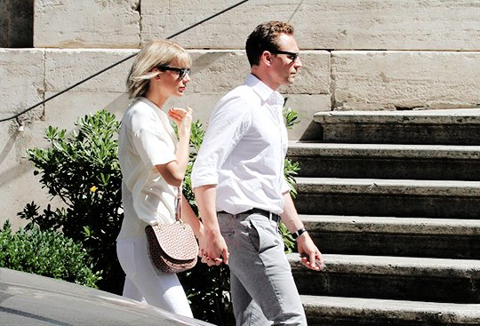 Le 28 Juin, Taylor & Tom sont sortis dans Rome