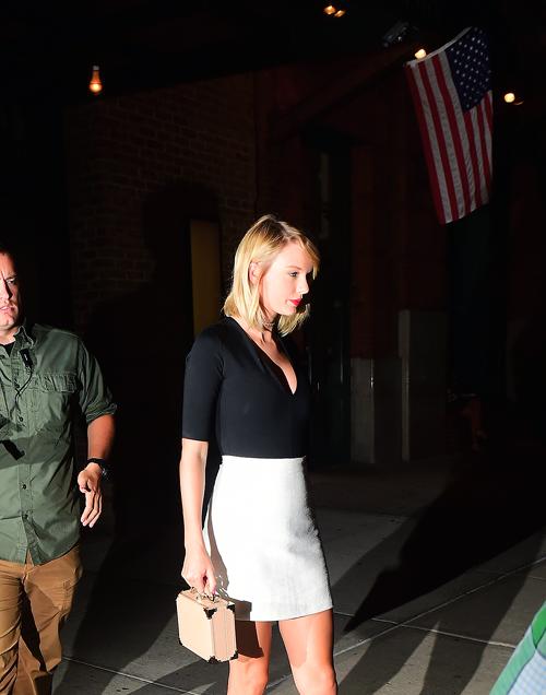 Le 07 Septembre dernier, Taylor quittait -est-ce utile de le préciser ?- la salle de gym, à NYC.