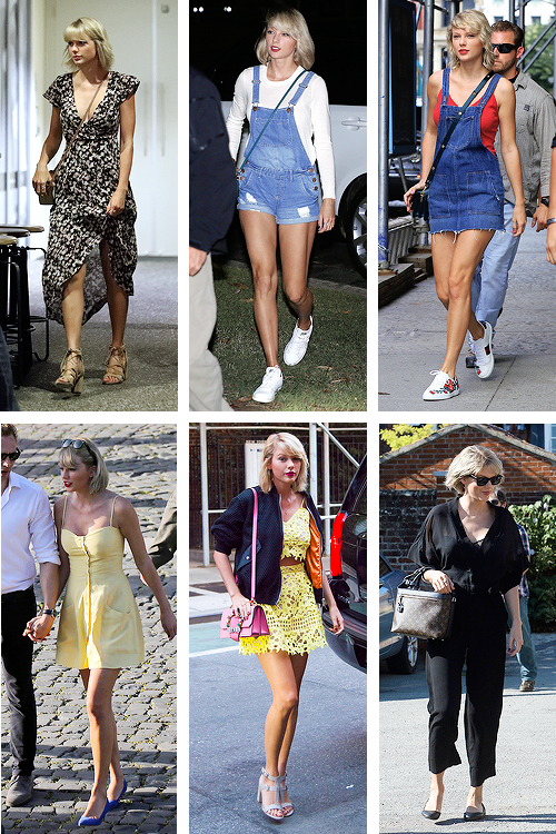 Récap' des tenues portées par Taylor en 2016 ! (Par manque de place, quelques tenues manquent toutefois à l'appel)