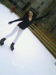 Moii à la patinoire ! :D