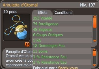 Guilde 63, Up 197 & Amullette Otomaï !