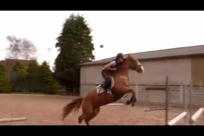 Moi & mon ancienne cavalière a l'obstacle =)