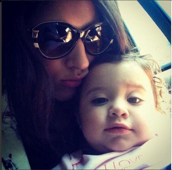 Daniela Ospina et sa fille Salomé