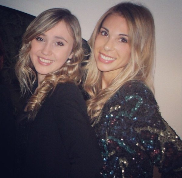 Fanny Valbuena et une amie