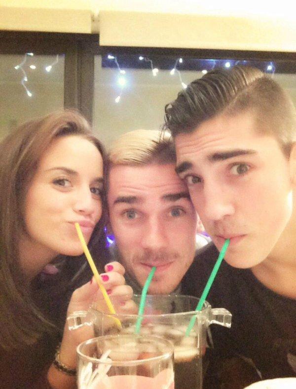 Erika, Antoine & Theo Griezmann