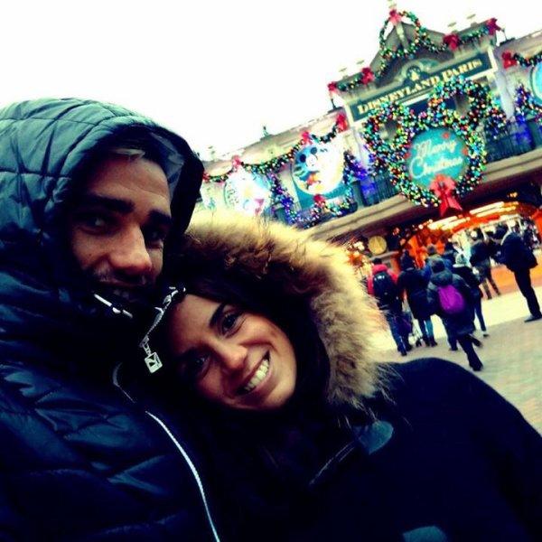 Erika & Antoine Griezmann a DisneyLand