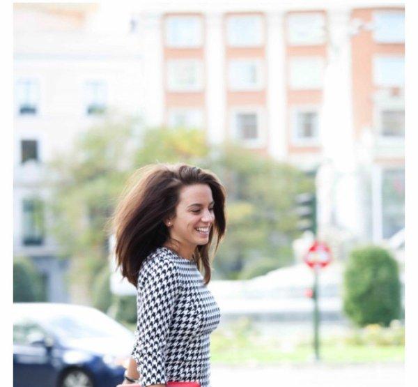 Erika Choperana en shooting pour son blog Cordialemente Erika