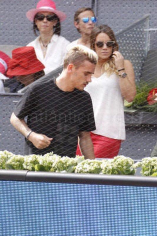 Erika & Antoine Griezmann au Mutua Tennis Open à Madrid