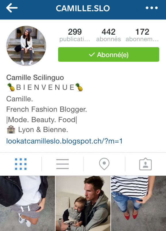 Histoire d'une FrenchWags: Camille Salamand