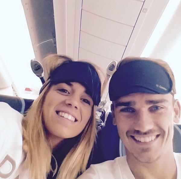 Erika & Antoine Griezmann'